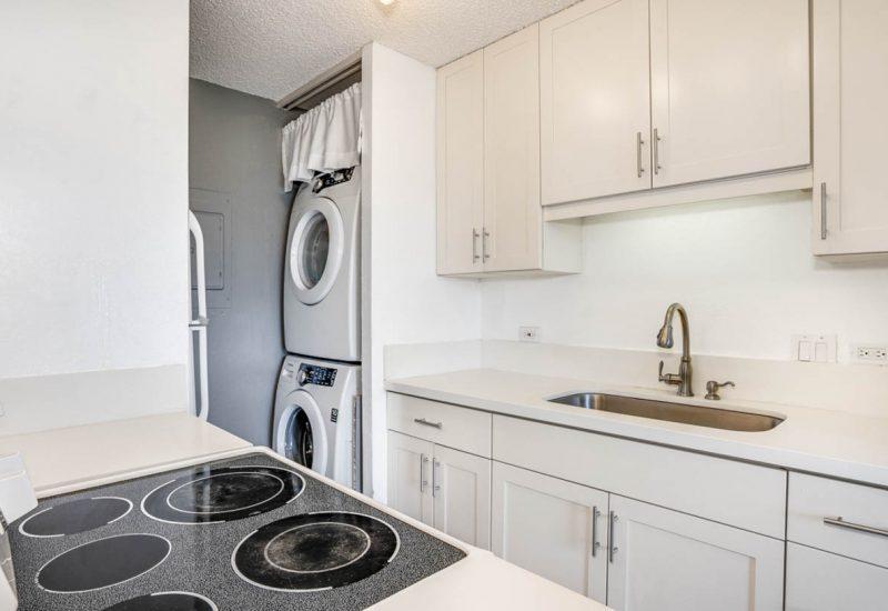 モンテビスタ1105号室には洗濯機・乾燥機も完備