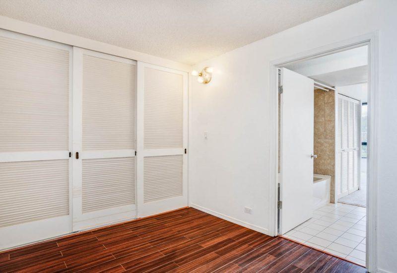 monte vista1105号室のベッドルームは仕切れる